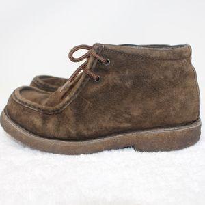 LL Bean Desert Chukka Boots Brown Suede Size 8.5